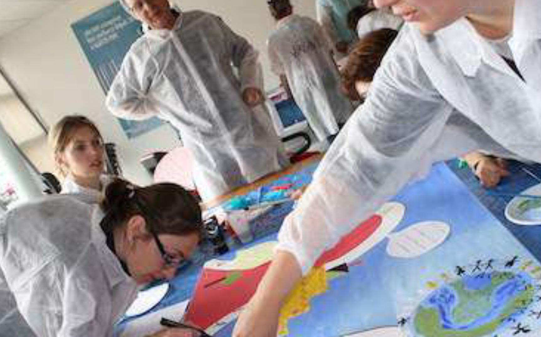 création fresque geante