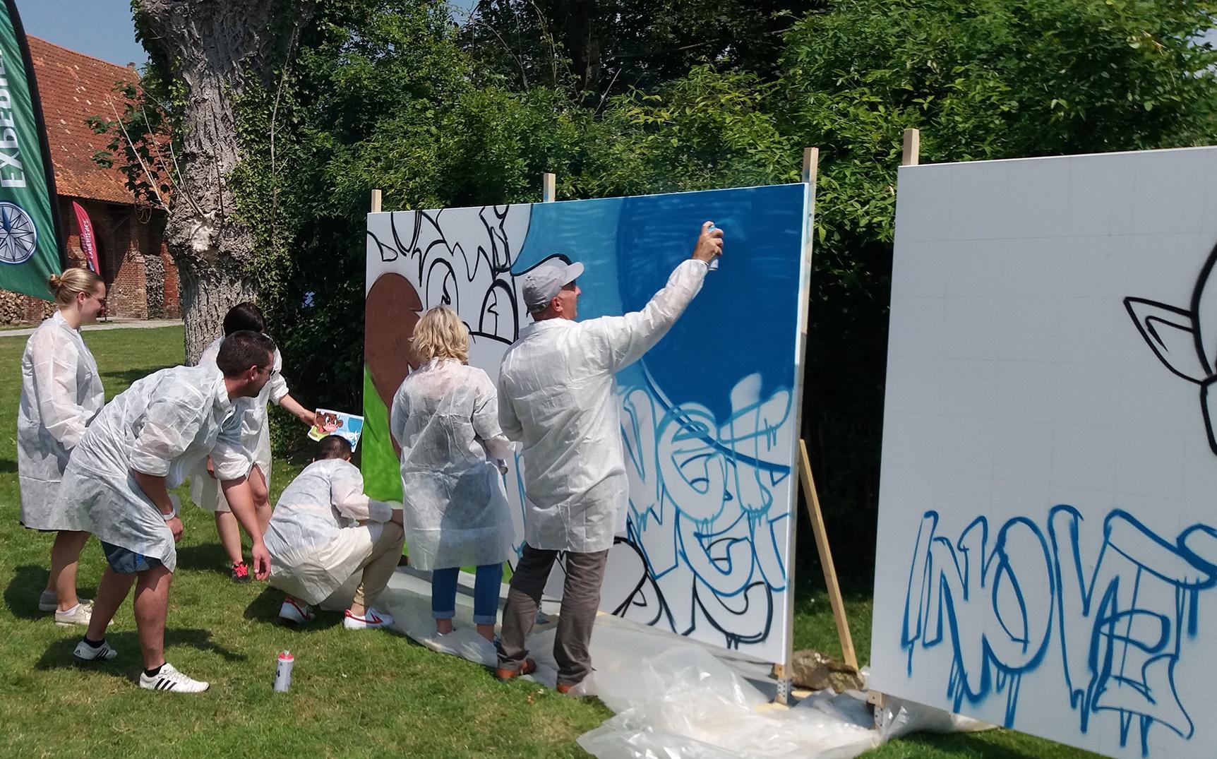 activité graffiti